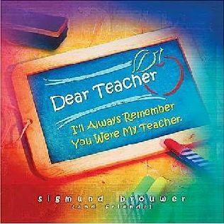 book cover of Dear Teacher