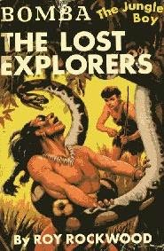 book cover of The Lost Explorers