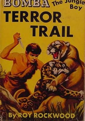 book cover of Terror Trail