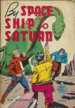 book cover of By Space Ship to Saturn