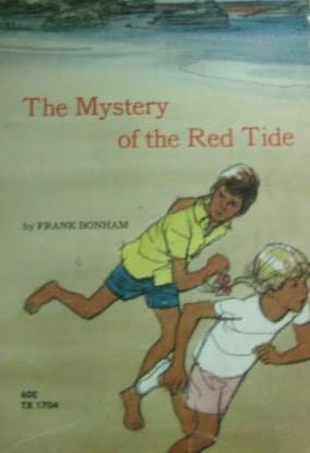 book cover of Mystery of the Red Tide