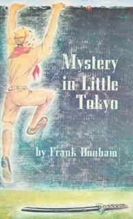book cover of Mystery in Little Tokyo