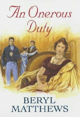 book cover of An Onerous Duty