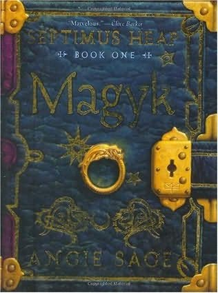 book cover of  Magyk   (Septimus Heap, book 1) by Angie Sage