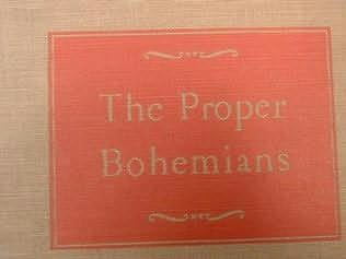 book cover of The Proper Bohemians