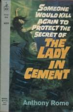book cover of The Lady in Cement