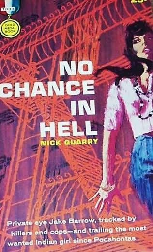 book cover of No Chance in Hell