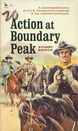 book cover of Action at Boundary Peak
