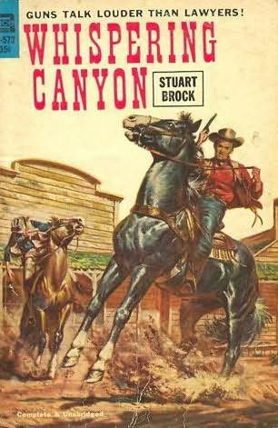 book cover of Whispering Canyon