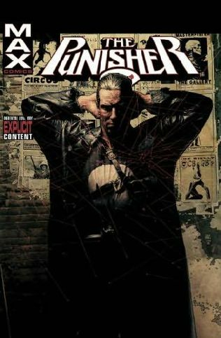 book cover of Punisher Max Volume 1 HC