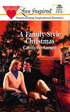 book cover of A Family Style Christmas