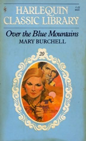 book cover of Over the Blue Mountains