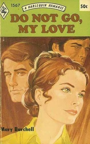 book cover of Do Not Go, My Love