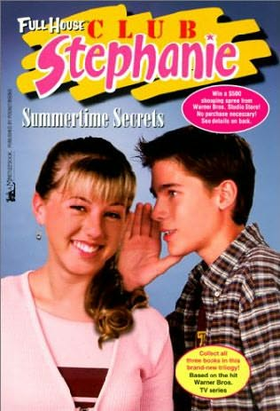 book cover of Summertime Secrets