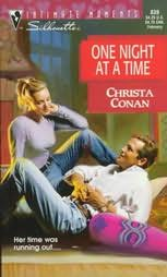 book cover of One Night at a Time