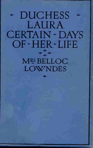 book cover of Duchess Laura: Certain days of her life