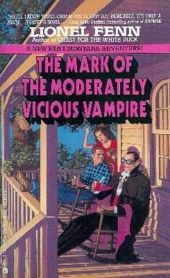 book cover of The Mark of the Moderately Vicious Vampire