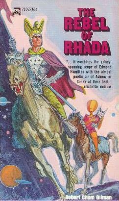 book cover of The Rebel of Rhada