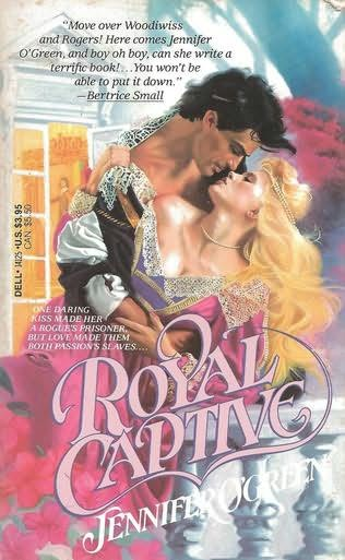 book cover of Royal Captive
