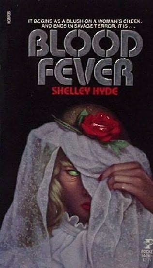 book cover of Blood Fever