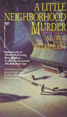 book cover of A Little Neighborhood Murder