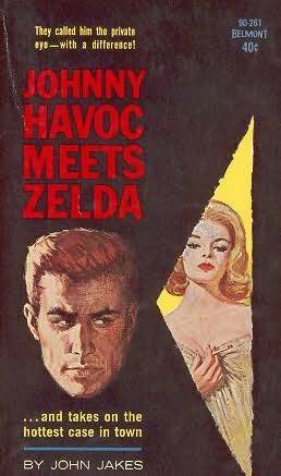 book cover of Johnny Havoc Meets Zelda