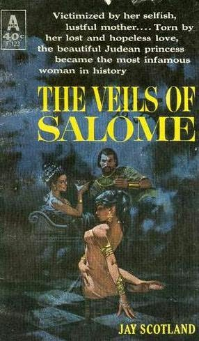 book cover of Veils of Salome