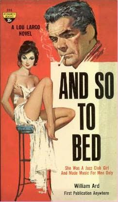 book cover of And So to Bed