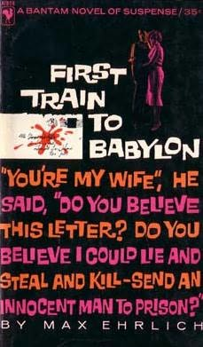 book cover of First Train to Babylon