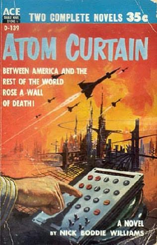 book cover of Atom Curtain