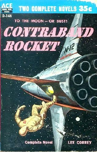 book cover of Contraband Rocket