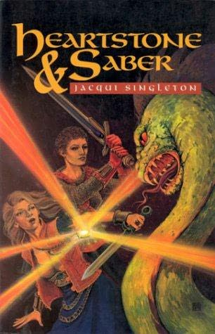 book cover of Heartstone and Saber