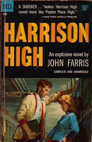 book cover of   Harrison High