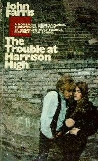 book cover of The Trouble at Harrison High