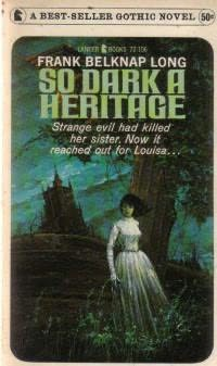 book cover of So Dark a Heritage