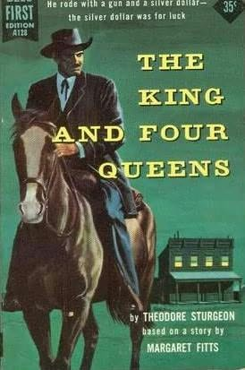 book cover of The King and Four Queens