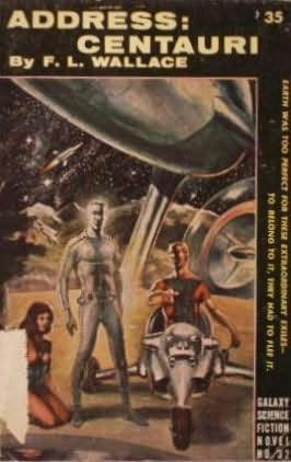 book cover of Address: Centauri