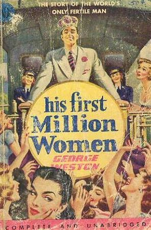 book cover of His First Million Women