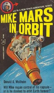 book cover of Mike Mars in Orbit