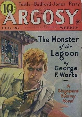 book cover of Monster of the Lagoon