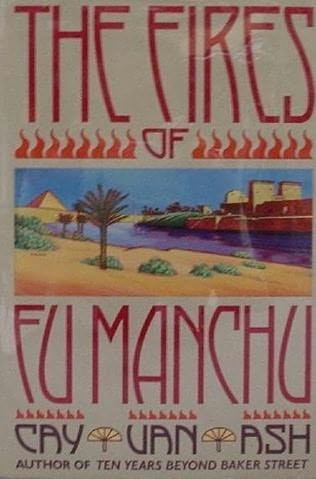 book cover of The Fires of Fu Manchu
