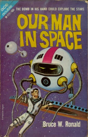 book cover of Our Man in Space