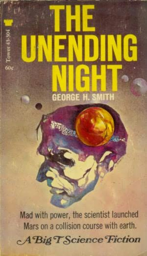 book cover of The Unending Night