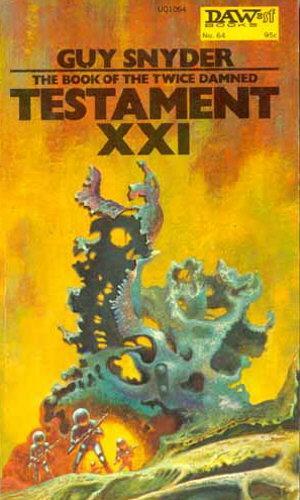 book cover of Testament XXI