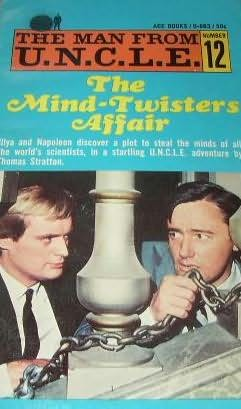 book cover of The Mind-Twisters Affair