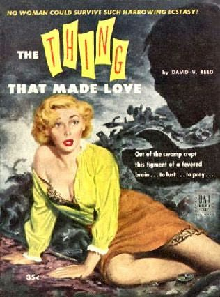 book cover of The Thing That Made Love