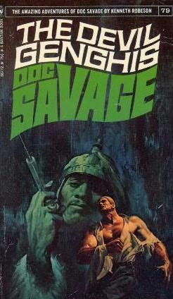 book cover of The Devil Genghis