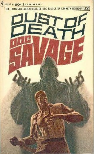 book cover of Dust of Death