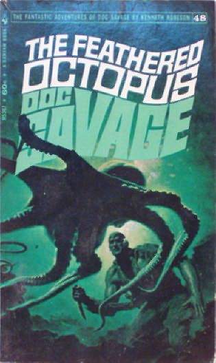 book cover of The Feathered Octopus