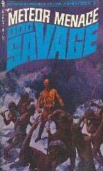 book cover of Meteor Menace
